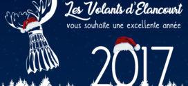 Les volants d'élancourt vous souhaite une excellente année !!!